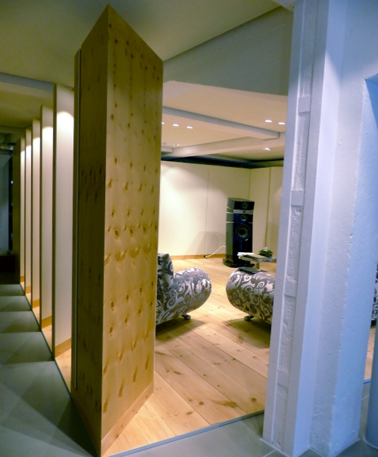 Sound Vision House St. Moritz Showroom