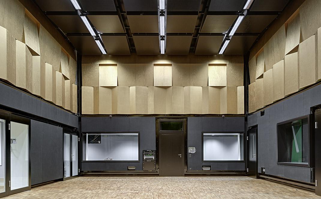 neubau z rcher hochschule der k nste zhdk toni areal applied acoustics gmbh. Black Bedroom Furniture Sets. Home Design Ideas